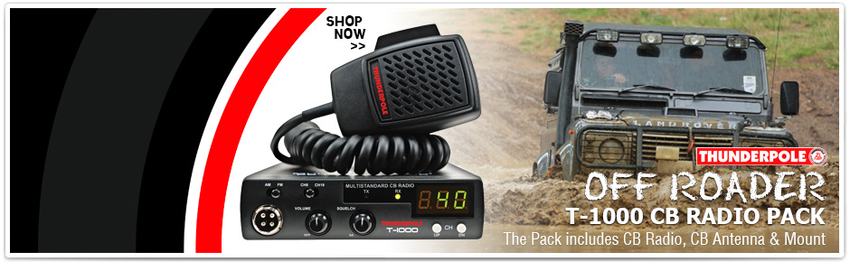 Thunderpole CB Radio Off-Roader Pack