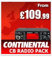 Thunderpole CB Radio Continental Pack - Thunderpole T-2000