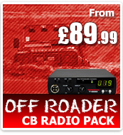 Thunderpole CB Radio Off Roader Pack - T1000