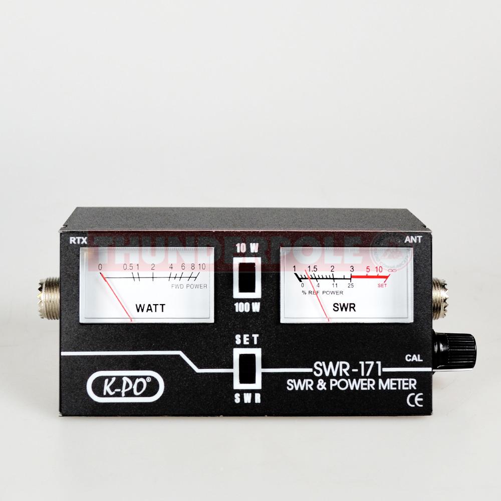 Swr Power Meter : K po swr power meter thunderpole