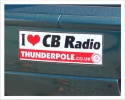 Thunderpole Bumper Sticker