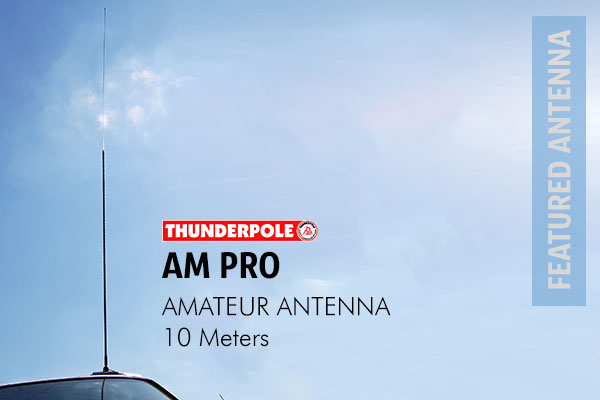 Thunderpole Am Pro Amateur Radio Antennas is designed to operate over the HF band.