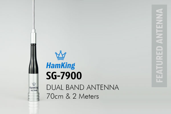 HamKing SG7900 is a pre-tuned mobile 2M/70cm 144/430mhz amateur band antenna is a high performance & good quality dual band mobile aerial.