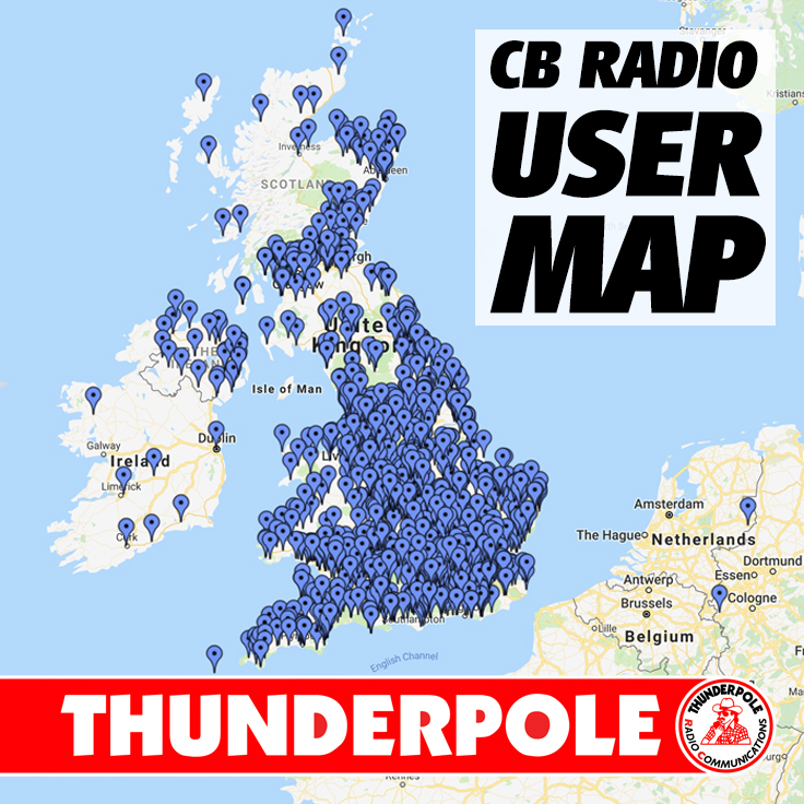 CB Radio User Map