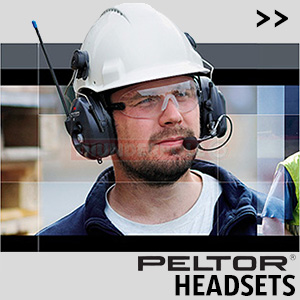 3M Peltor Headsets are the world's leader in safety and protective radio equipment. They provide outstanding communication in very high-noise environments.