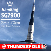 The HamKing SG-7900 is a pre-tuned mobile 2M/70cm 144/430mhz amateur band antenna is a high performance.
