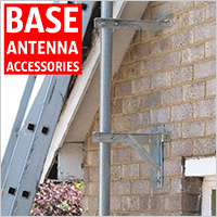 We have a range of radio scanner base antenna fittings including T & K wall brackets, interlocking poles, U Bolts, etc.