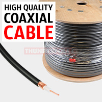 We stock a range of RG58U, RG58CU and RG218 plus red/black power cable & speaker cable for Amateur Radios per meter or roll.