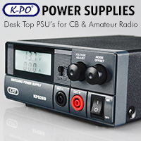 Linear desktop regulated power supply ideal for amateur radio or CB radio use.