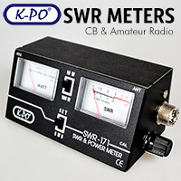 Here at Thunderpole we have a selection of SWR meters design to help fine tune your radio antenna to its optimum performance. Also available are power meters and matchers.