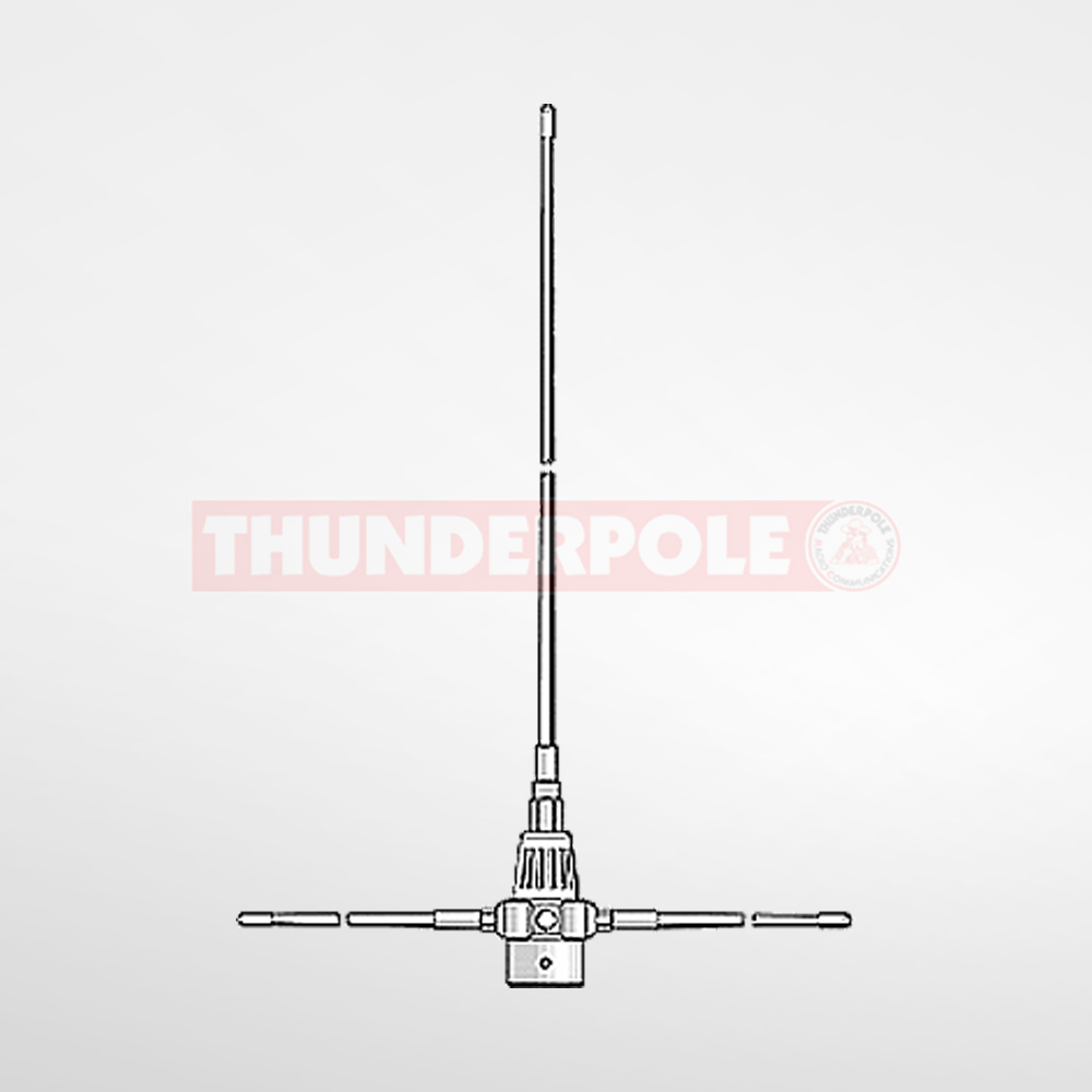 Sirio GP3E Mono Band Antenna