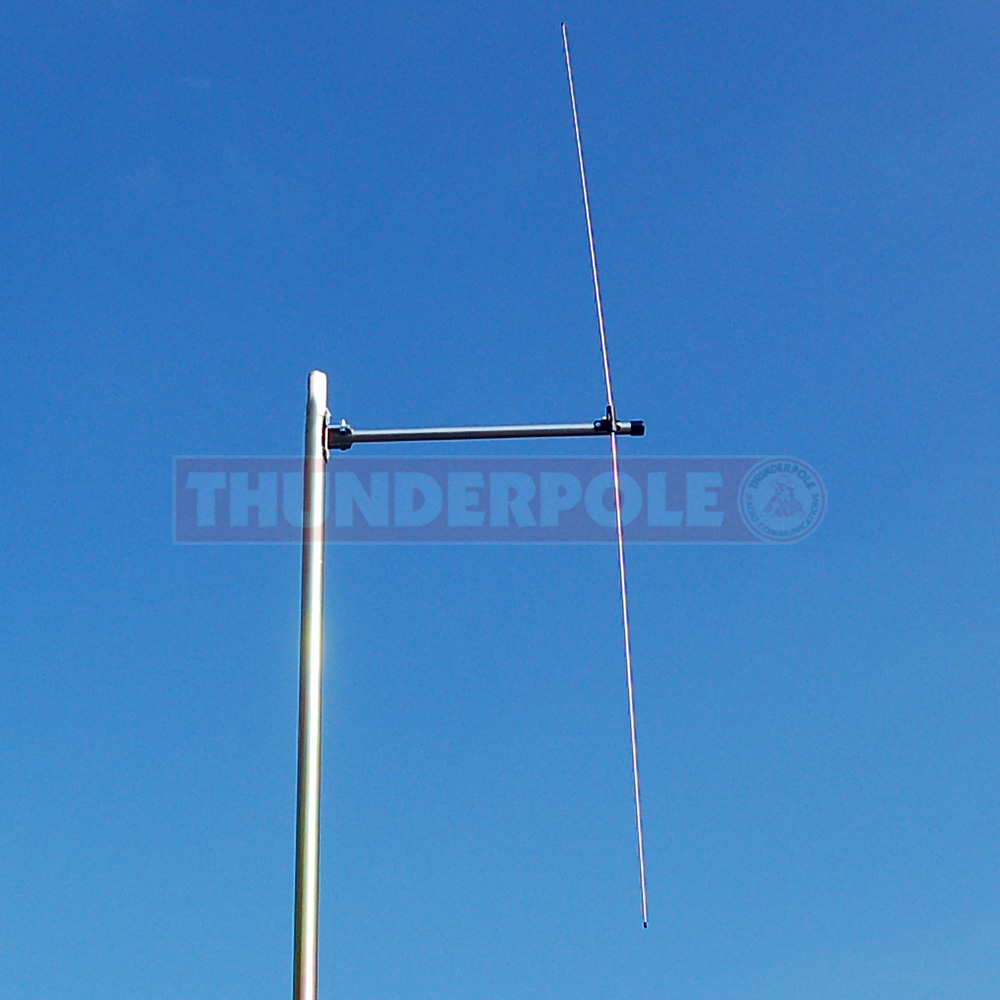 Thunderpole Dipole Antenna - 66-500 MHz (includes FM Broadcast 88-108 MHz)