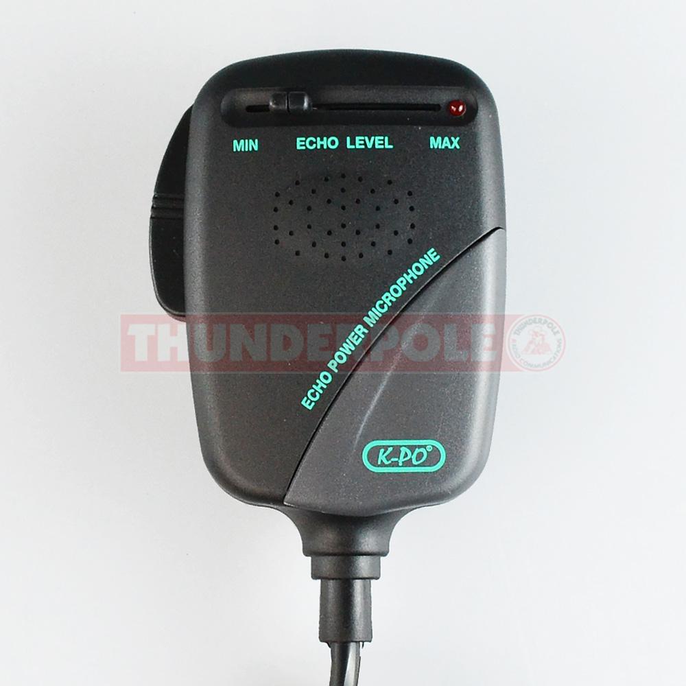 Echo Mics Cb Radio Wiring Smart Diagrams Co 148 Mic K Po Nm452 Microphones Thunderpole Cobra Gtl Power