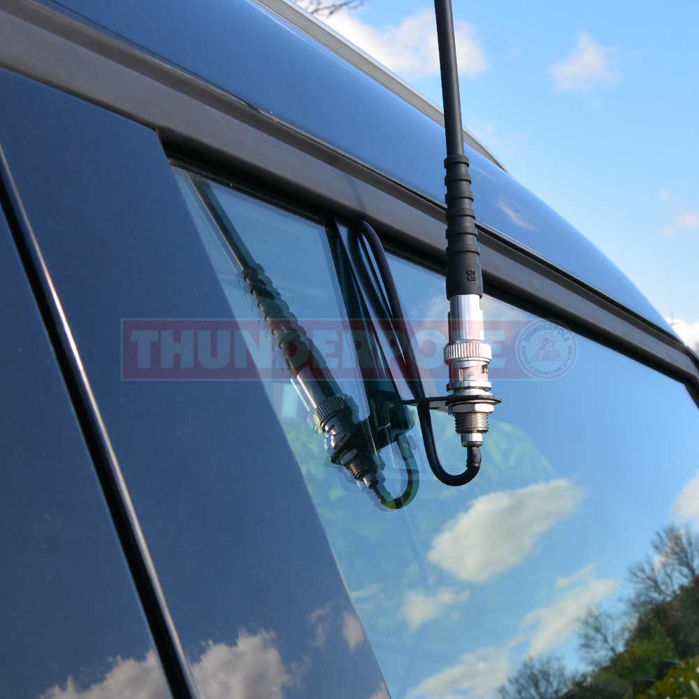 BNC Window Clip Mount with 2.4m Lead