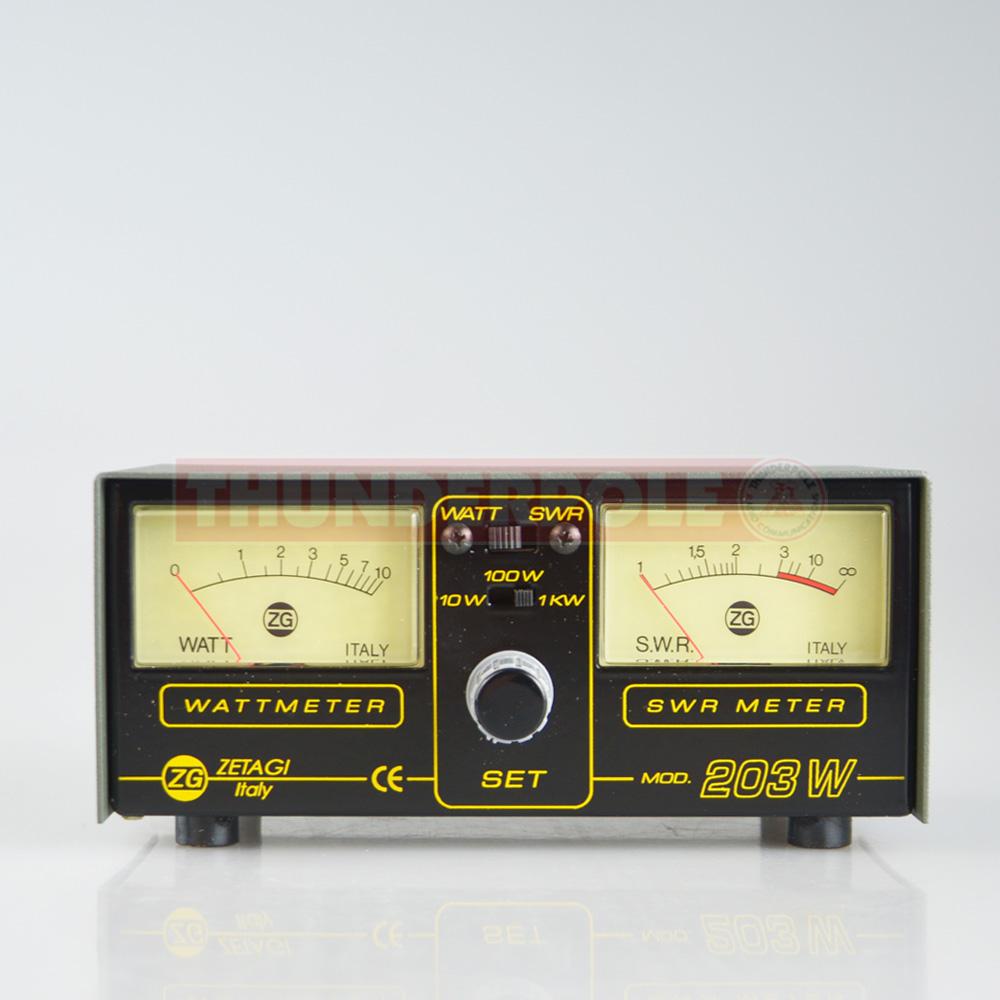 Zetagi Mod203 Swr Power Meter Thunderpole