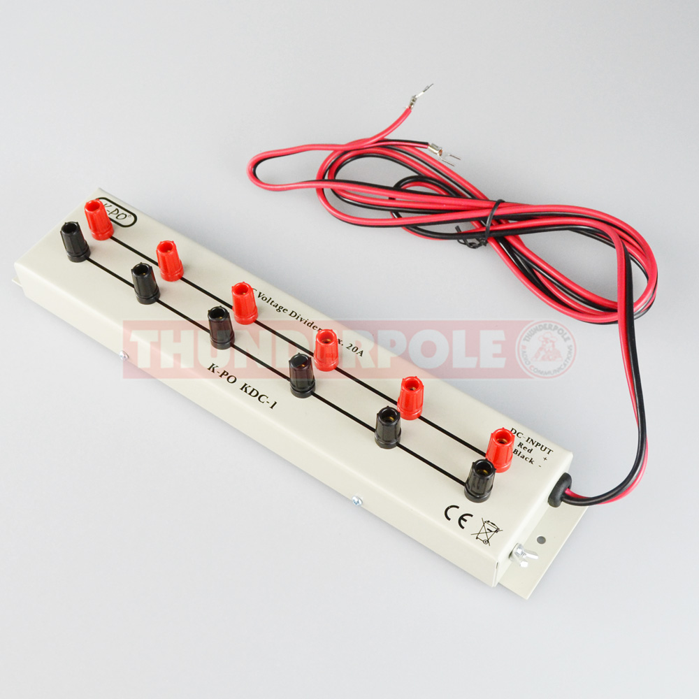 K Po Kdc 1 6 Way Distribution Board 20 Amp Thunderpole Wiring