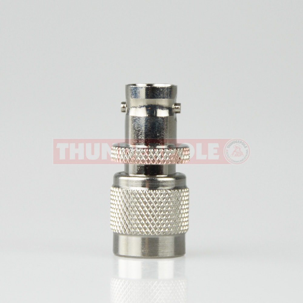 TNC Male - BNC Female Adaptor