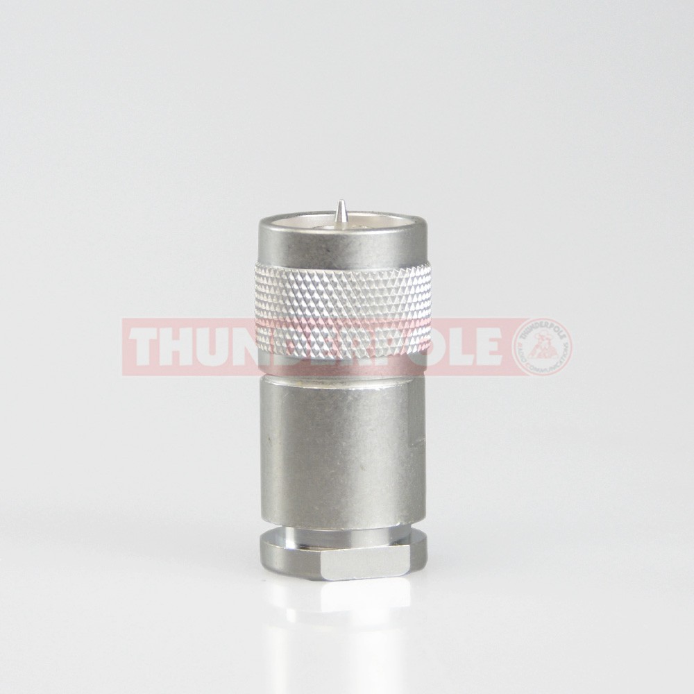 N-Type Pro Plug for RG213 | 9mm