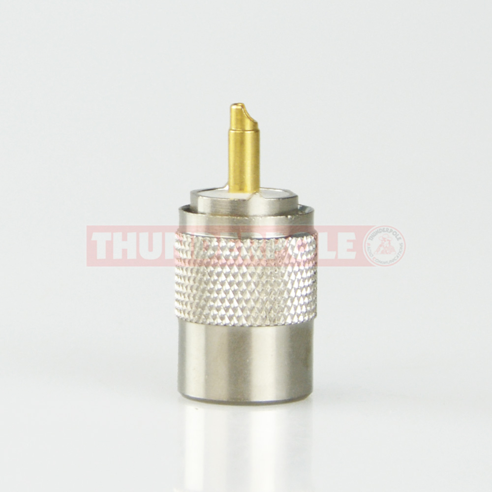 PL259 Teflon Plug | 9mm | RG213 Type