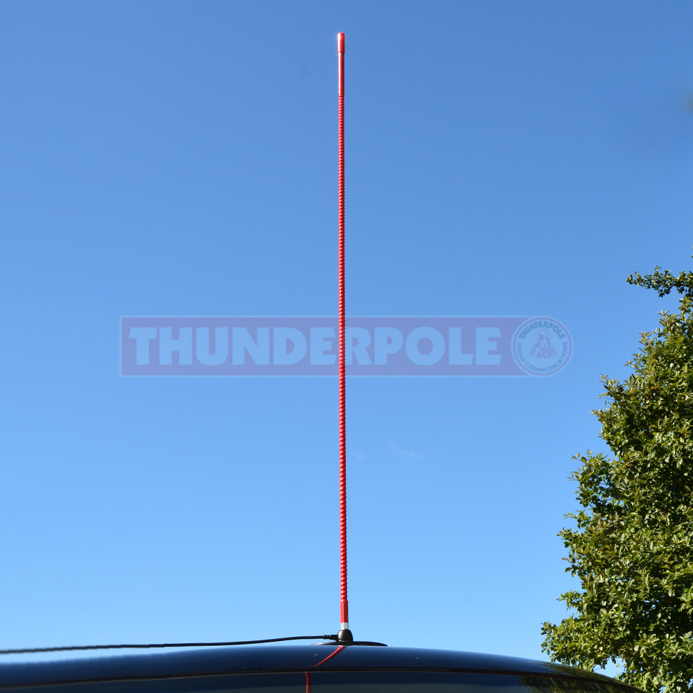 Black Thunderpole Thunderstick 4ft-Ex-Display