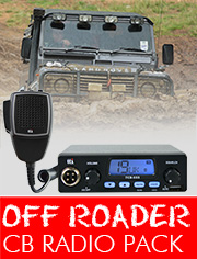 CB Radio Off-Roader Pack, ideal if you need a robust, user friendly CB to enhance your off-road experience.