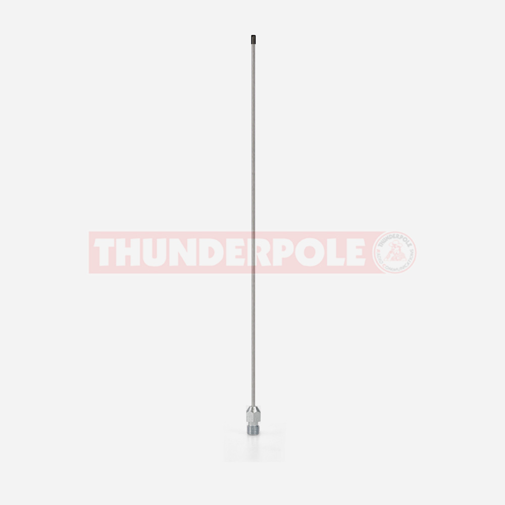 Thunderpole 1/4 Wave VHF Whip & Stud
