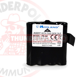Midland G6 / G8 Battery Pack