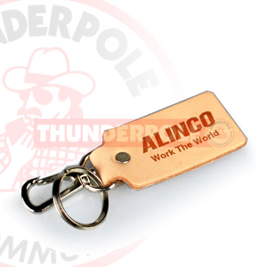 Alinco Leather Key Fob