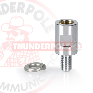 Thunderpole M7 to M6 Adapter | Chrome
