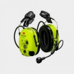 3M Peltor WS ProTac XPI headset with Helmet attachment & Bluetooth connectivity
