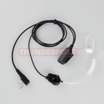 Acoustic Earpiece / Microphone for Kenwood Radios