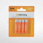 4x AA 1300mA NiMH Rechargeable Batteries