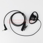D-Shape Earpiece / Microphone for Single Pin Motorola & Cobra Radios | M2