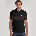 TTI Polo Shirt - Black | XXL
